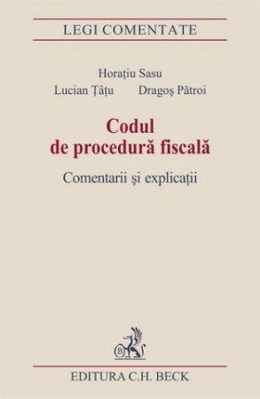Imagine Codul de procedura fiscala. Comentarii si explicatii