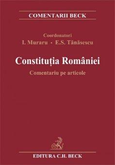Imagine Constitutia Romaniei. Comentariu pe articole