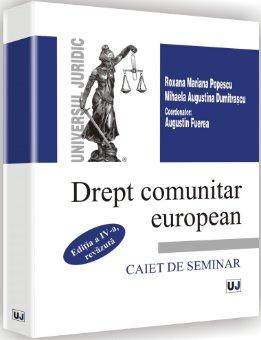 Imagine Drept comunitar european - Caiet de seminar