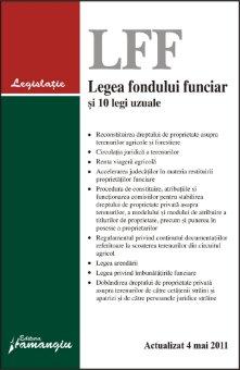 Imagine Legea fondului funciar si 10 legi uzuale 4.05.2011