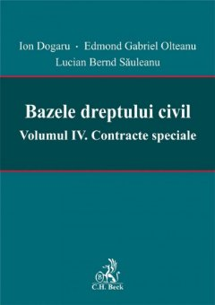 Imagine Bazele dreptului civil. Vol. IV Contracte speciale