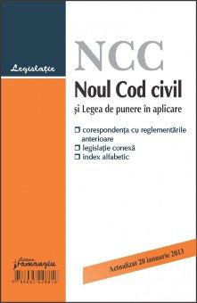 Imagine Noul Cod civil si Legea de punere in aplicare 20.01.2013