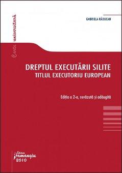 Imagine Dreptul executarii silite ed. 2