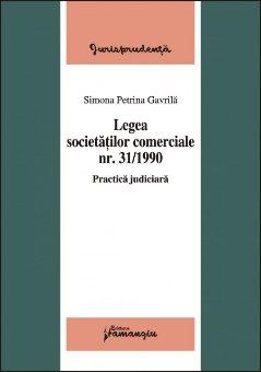 Imagine Legea societatilor comerciale nr.31/1990  Practica judiciara