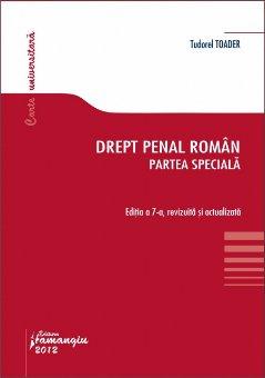 Imagine Drept penal roman. Partea speciala ed. 7 2012