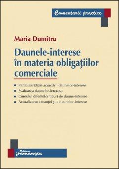 Imagine Daunele-interese in materia obligatiilor comeciale