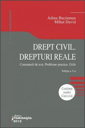 Imagine Drept civil. Drepturi reale. Editia a 2-a