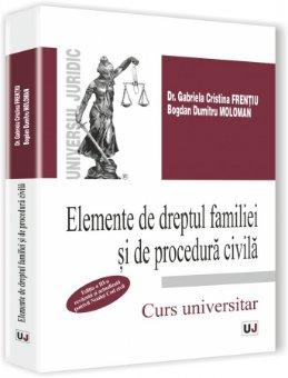 Imagine Elemente de dreptul familiei si de procedura civila