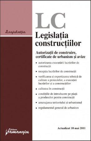 Imagine Legislatia constructiilor 10.05.2011
