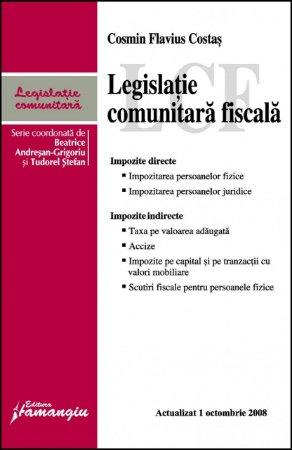 Imagine Legislatie comunitara fiscala 1.10.2008