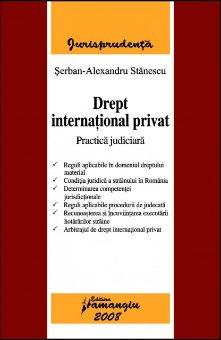 Imagine Drept international privat. Practica judiciara