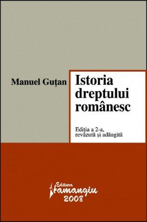 Imagine Istoria dreptului romanesc. Editia a 2-a