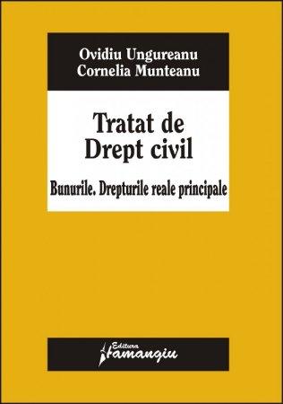 Imagine Tratat de drept civil. Bunurile. Drepturile reale principale