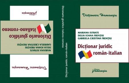 Imagine Dictionar juridic Roman-Italian Italian-Roman