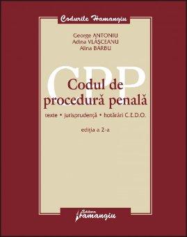 Imagine Codul de procedura penala. Texte, jurisprudenta, hotarari CEDO, ed. 2
