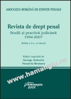 Imagine Revista de Drept penal.  Ed. 2