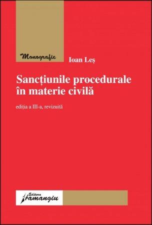 Imagine Sanctiunile procedurale in materie civila