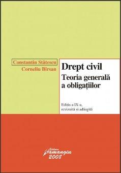 Imagine Drept civil. Teoria generala a obligatiilor