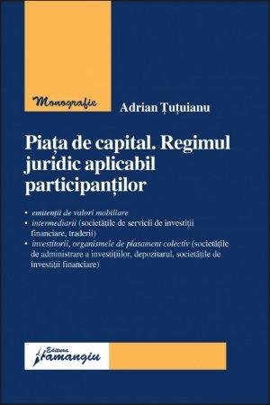 Imagine Piata de capital. Regimul juridic aplicabil participantilor