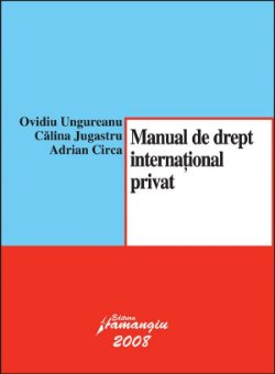 Imagine Manual de drept international privat