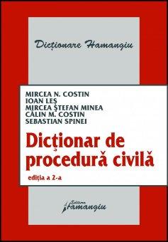 Imagine Dictionar de procedura civila