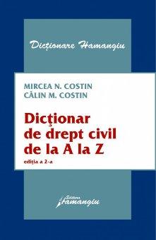 Imagine Dictionar de drept civil de la A la Z