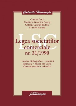 Imagine Legea societatilor comerciale adnotata