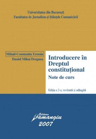 Imagine Introducere in dreptul constitutional (vechi)
