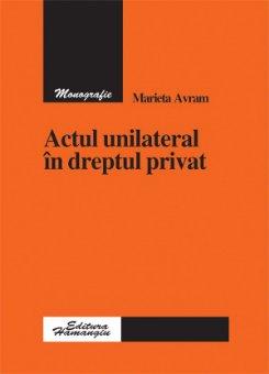 Imagine Actul unilateral in dreptul privat