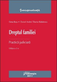 Imagine Dreptul familiei. Practica judiciara ed. 2