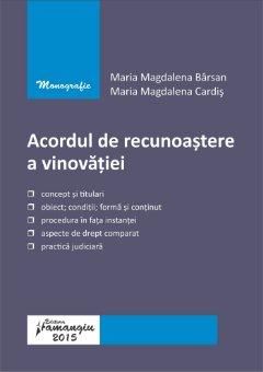 Acordul de recunoastere a vinovatiei