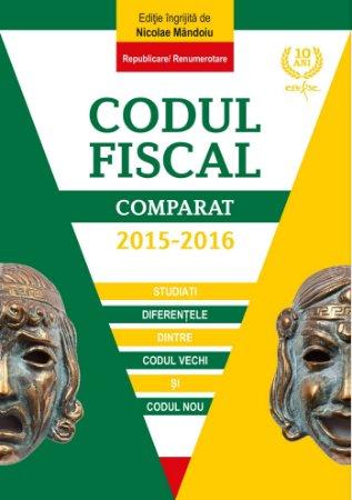 Codul fiscal comparat 2015-2016 - Mandoiu