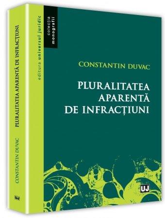 Pluralitatea aparenta de infractiuni - Duvac