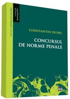 Concursul de norme penale - Duvac