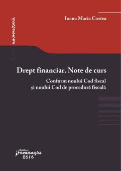 Drept financiar  Note de curs_Costea