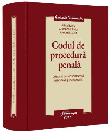 Codul de procedura penala adnotat-Barbu, Tudor, Sinc