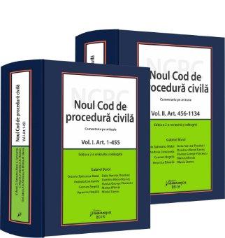 Noul Cod de procedura civila - comentariu pe articole. Editia a 2-a revizuita si adaugita