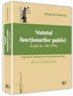 Statutul functionarilor publici. Editia a 2-a - Vedinas