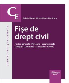 Fise de drept civil -  Gabriel Boroi, Mona Maria Pivniceru
