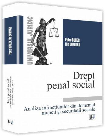 Drept penal social - Buneci, Dumitru