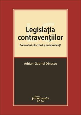 Legislatia contraventiilor - Dinescu