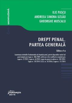 Drept penal Partea Generala_ed 4_Pascu, Uzlau, Muscalu