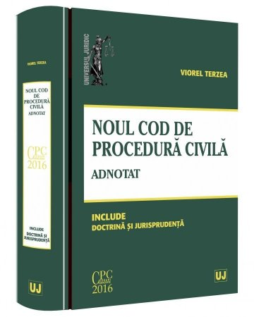 Noul Cod de procedura civila adnotat - Terzea