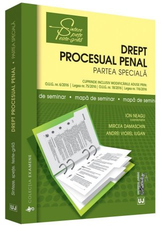 Drept procesual penal. Partea speciala. Mapa de seminar - Neagu, Damaschin, Iugan