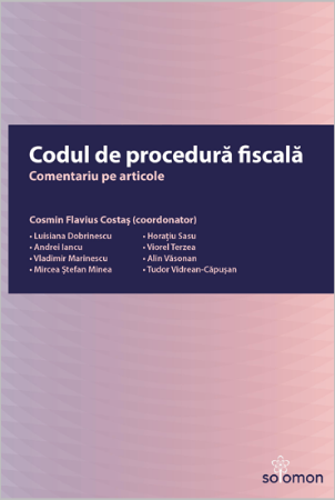 Codul de procedura fiscala. Comentariu pe articole-Costas