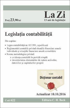 Legislatia contabilitatii. Actualizat 10 octombrie 2016