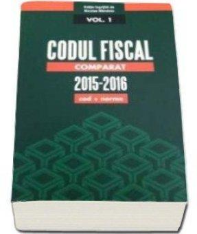 Codul fiscal comparat 2015-2016. 3 Volume (cod+norme)  - Mandoiu