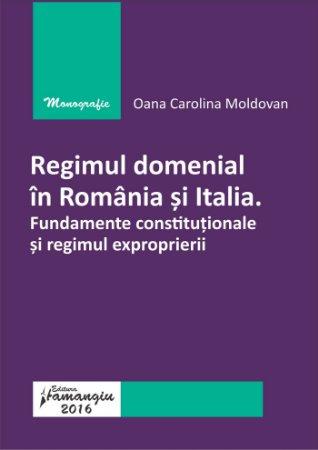 Regimul domenial in Romania si Italia-Moldovan