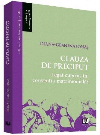 Clauza de preciput - Ionas