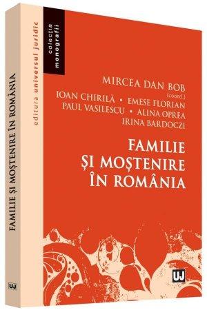 Familie si mostenire in Romania - Bob